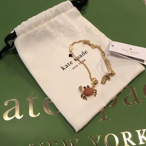 kate spade Jewelry - Kate Spade Shore Thing Crab Necklace